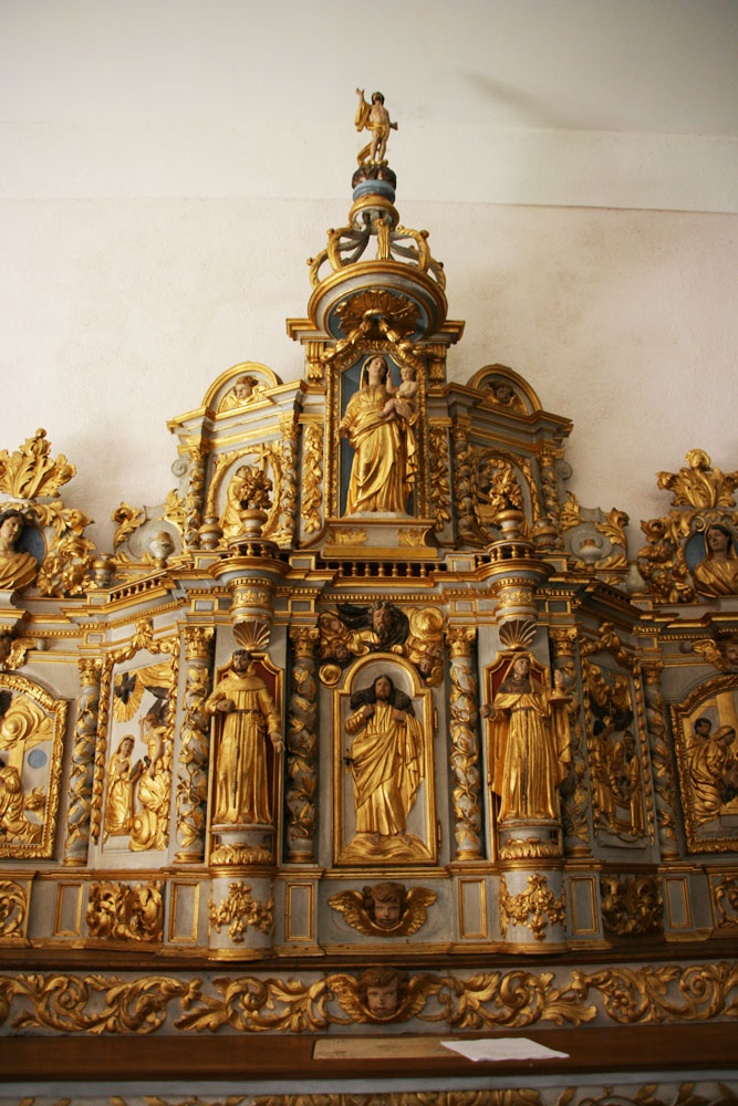 Retable de L'Église de Saint-Romain