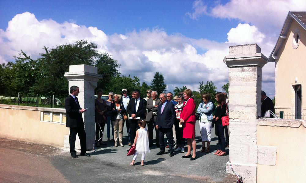 Inauguration des logements sociaux de Saint-Romain et Saint-Clément