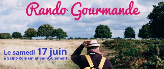 Rando Gourmande 17 juin 2017 saint-romain et saint-clément