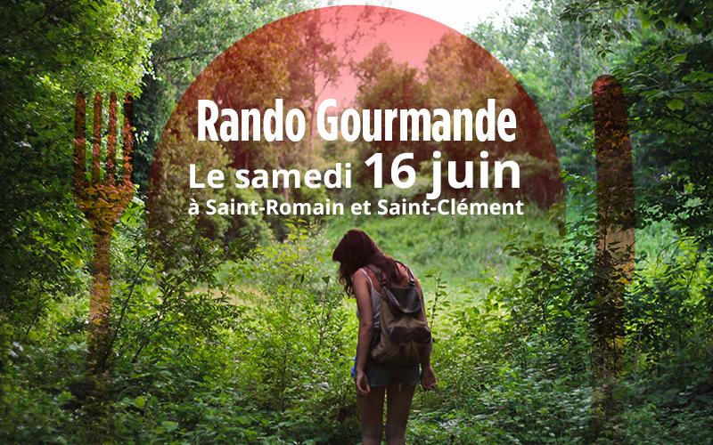 Rando Gourmande le samedi 16 juin 2018