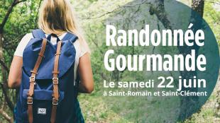 Randonnée Gourmande à Saint Romain et Saint Clément